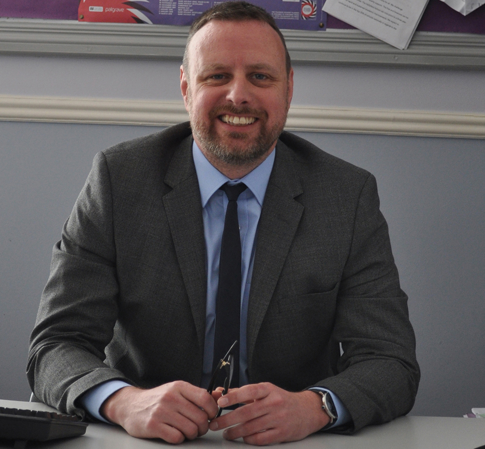 Tom Maltby, Headteacher